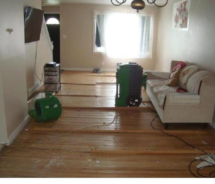 Water Damage?  SERVPRO always ready to help  Before