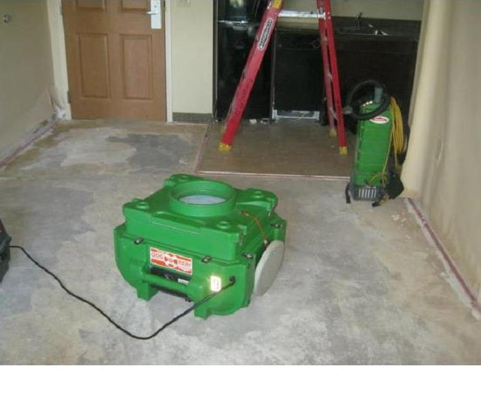 SERVPRO Air Scrubbers/Negative Air Movers